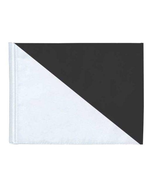 Bandiera-bicolore-da-golf-nera