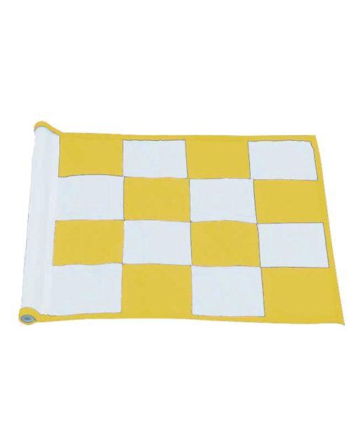 Bandiere-a-scacchi-gialla-e-bianca