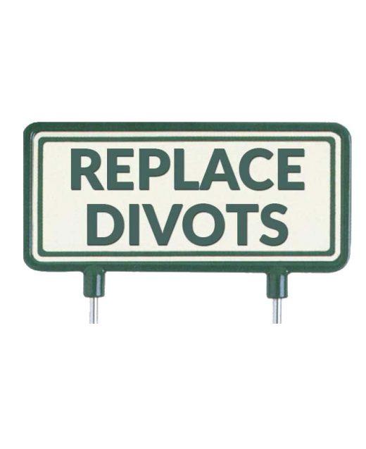 "Cartelli-per-il-fairway-""Replace-divots"""