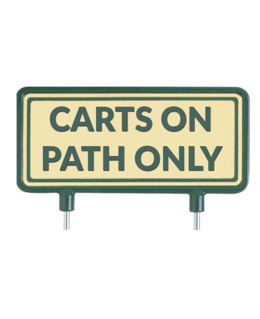 "Cartelli-per-il-fairway-""carts-on-path-only""-sabbia"