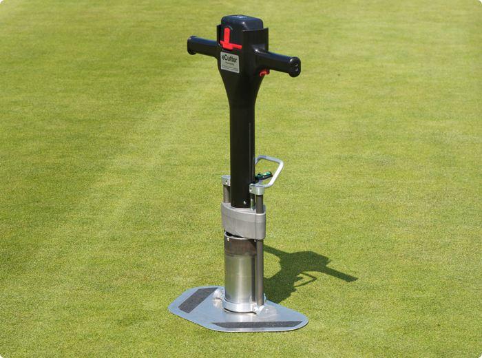 taglia buche elettrico per campi da golf